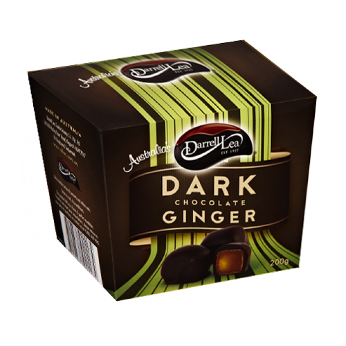 Dark Choc Ginger 200g