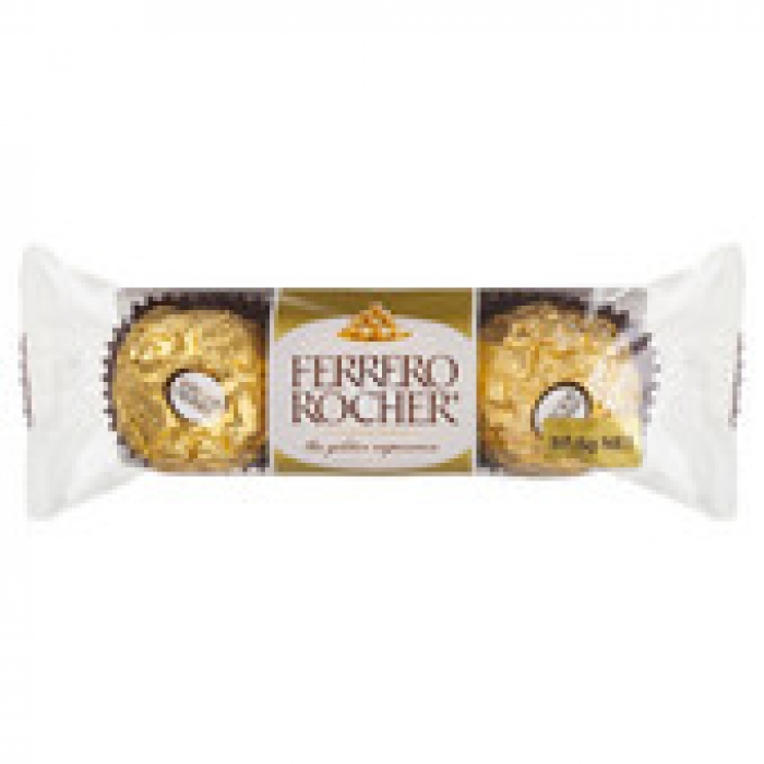 Ferrero Rocher Chocolate 3 pack 37.5g