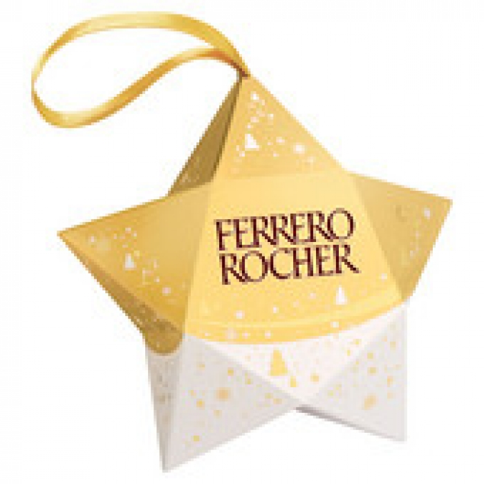 Ferrero Rocher Chocolates T3 Star 37.5g