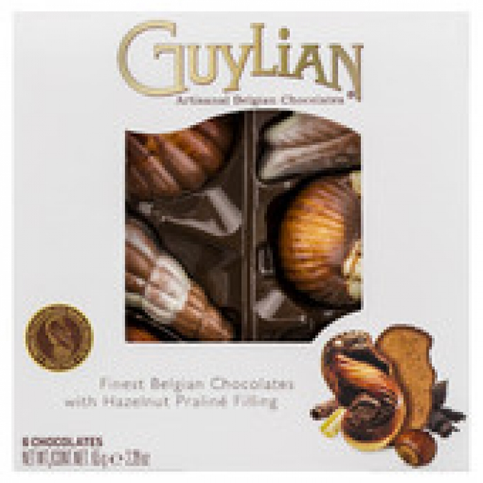 Guylian Belgian Chocolate Sea Shells 6 pack