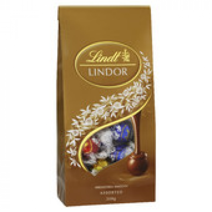 Lindt Lindor Assorted Chocolate Bag 308g
