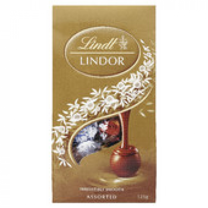 Lindt Lindor Assorted Chocolate Balls Sharing Bag 125g