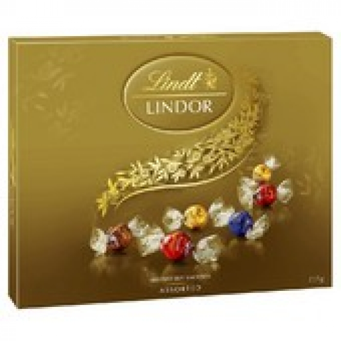 Lindt Lindor Assorted Chocolate Balls Gift Box 235g