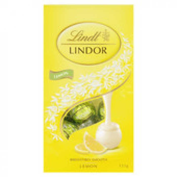 Lindt Lindor Lemon Bag 123g