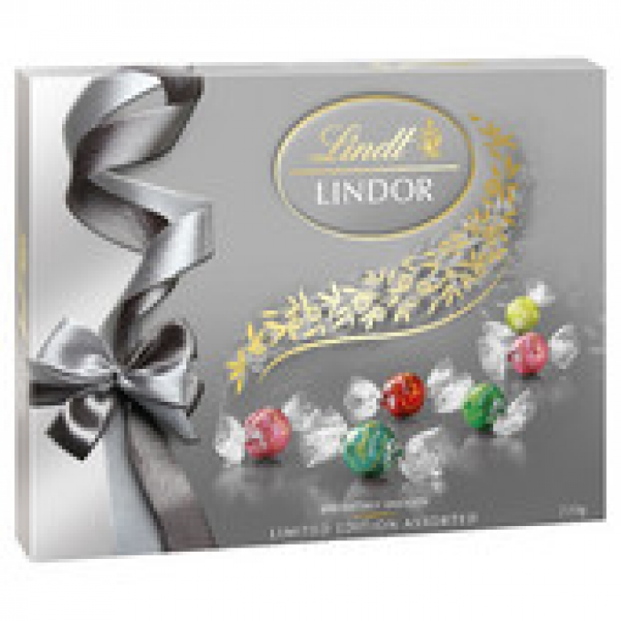 Lindt Lindor Limited Edition Assorted Gift Box 230g
