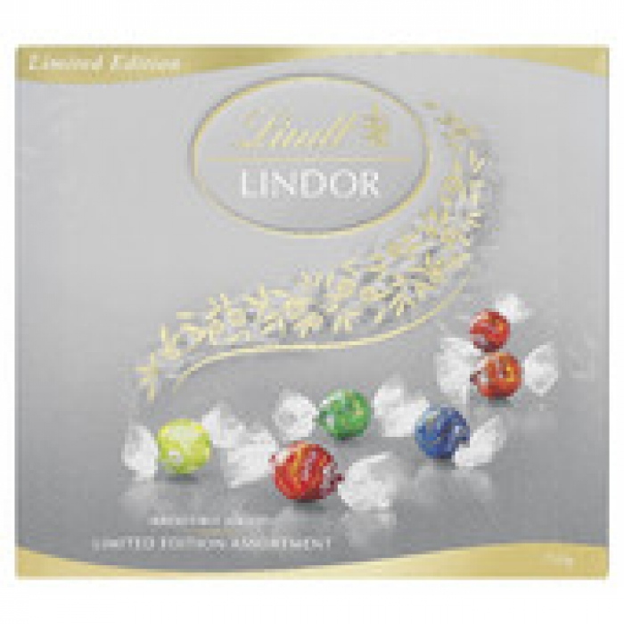 Lindt Lindor Limited Edition Assortment Chocolate Balls Gift Box 145g