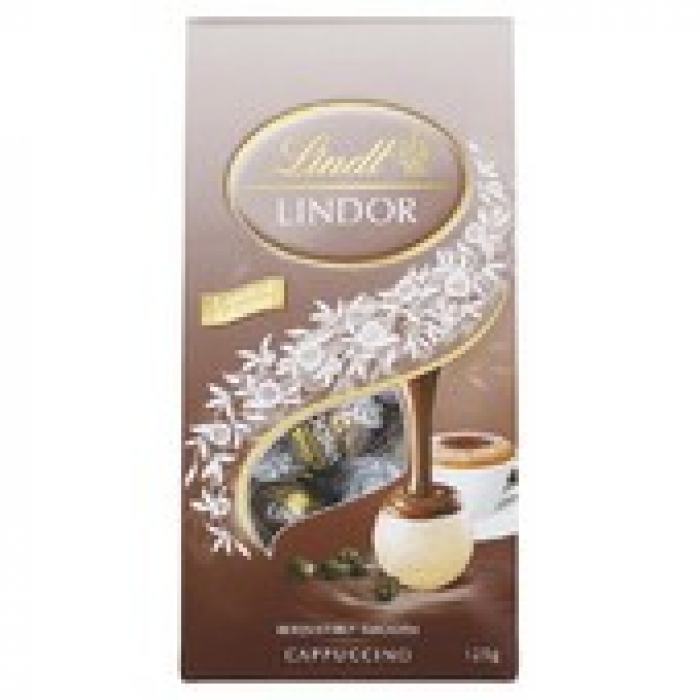 Lindt Lindor Limited Edition Lemon Chocolate Balls 125g