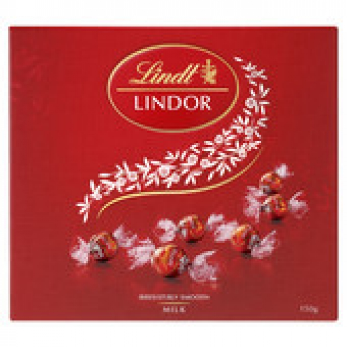 Lindt Lindor Milk Chocolate Balls Gift Box 150g